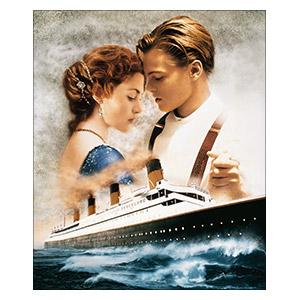 Titanic. Размер: 25 х 30 см